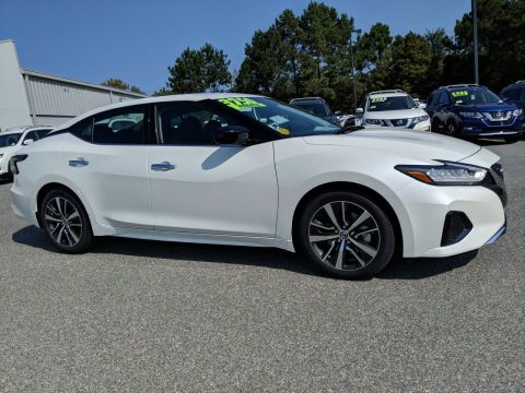 New 2019 Nissan Maxima S FWD 4dr Car