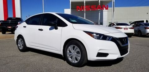 New 2020 Nissan Versa Sedan S FWD 4dr Car